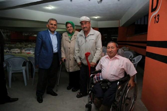 Başkan Dr. Memduh Büyükklıçı, Erciyes Feneri İftar Sofrasında