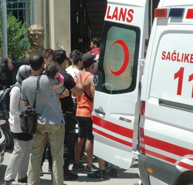Suriyeli Kaçaklar, Bodrum Emniyet Müdürlüğü'nü Çamaşırhaneye Çevirdi