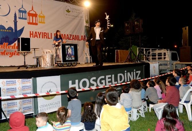Osmangazi'de Ramazan Dolu Dolu Geçiyor