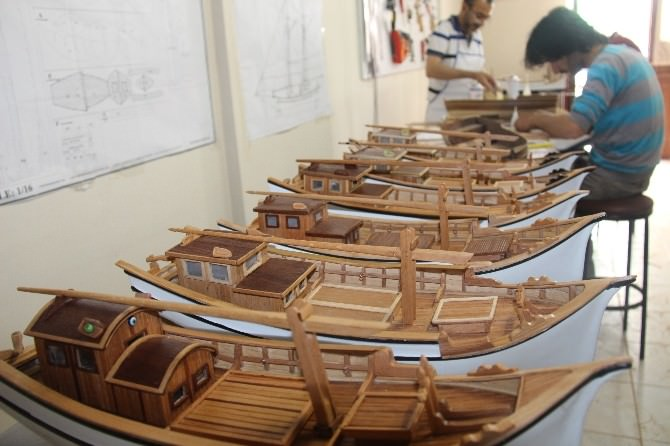 Gemi Maketi Kursuna Yoğun İlgi
