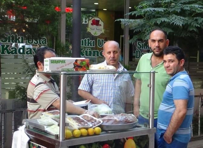 Ramazan'da Çiğköfteye Yoğun İlgi