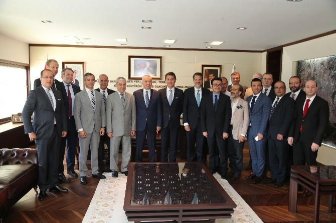 Stfa Holding'ten Başkan Zolan'a Ziyaret