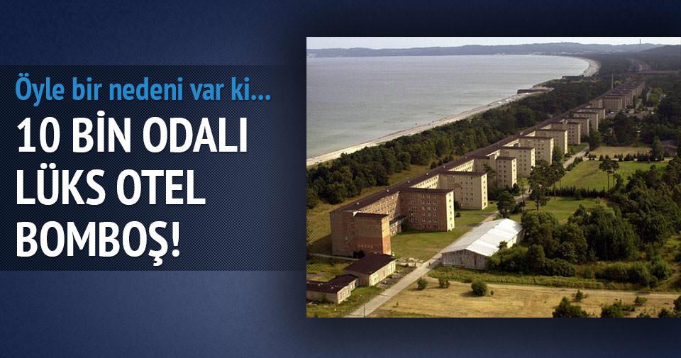 10 bin odasıyla ıssız otel!