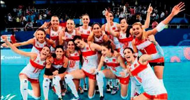 Azerbaycan'ı yenen Sultanlar finalde