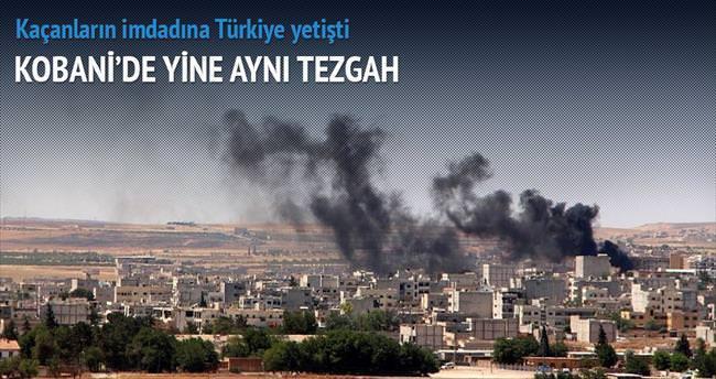 YPG ile DAEŞ'in 2. Kobani savaşı