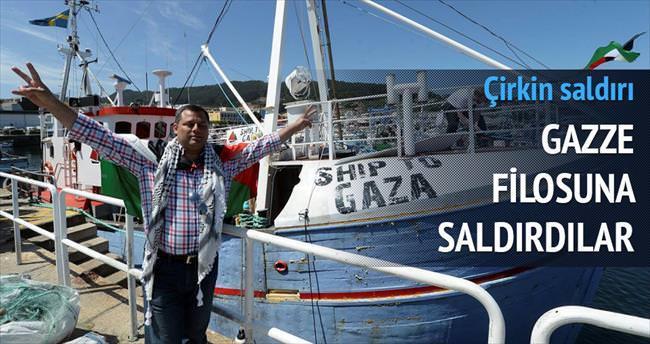 Gazze Filosu'na sabotaj