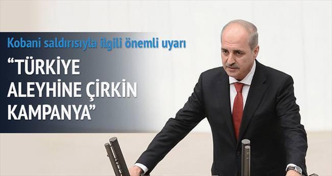 Türkiye aleyhine çirkin kampanya