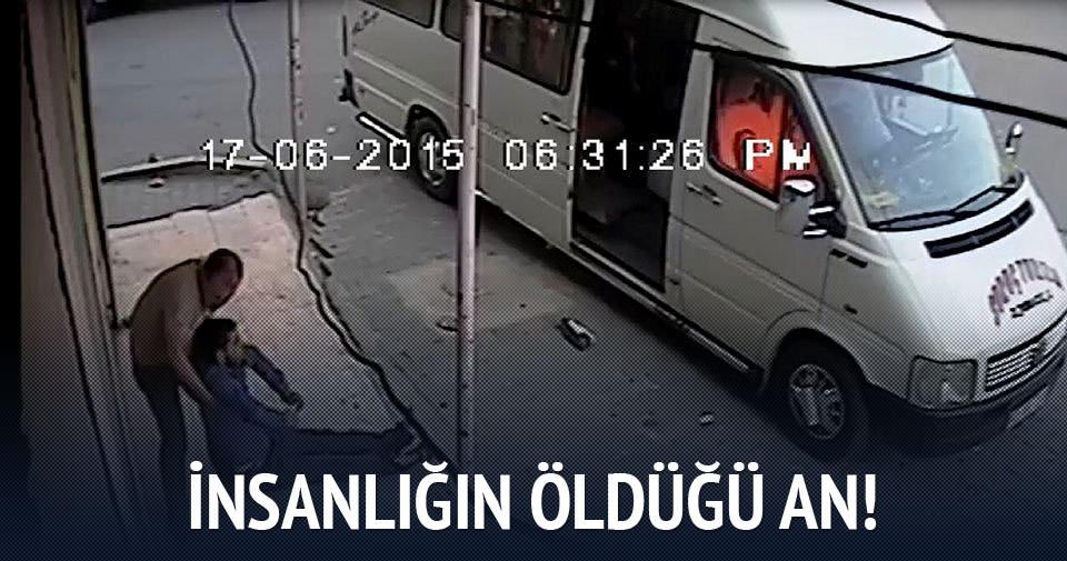 Gaziantep'te insanlığın öldüğü an!