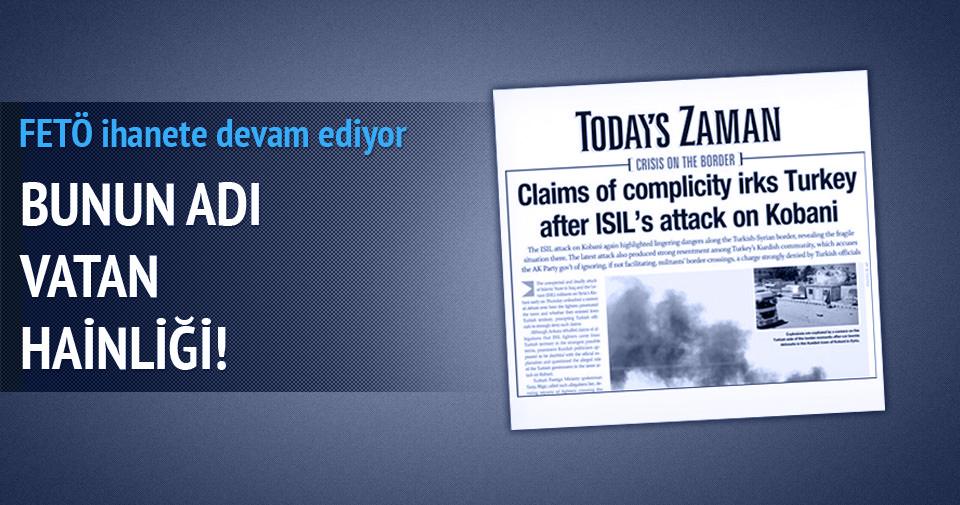 İngilizce Zaman Türkiye'yi terörist ülke gibi gösteriyor