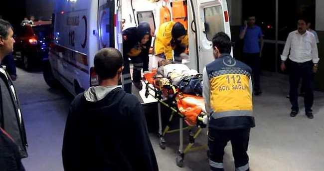 Bakma kavgasında pompalıyla vuruldu