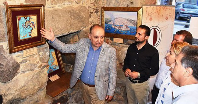 Piri Reis'in haritaları Bodrum'da