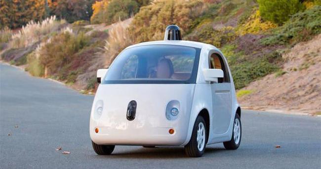 İşte Google'ın sürücüsüz aracı