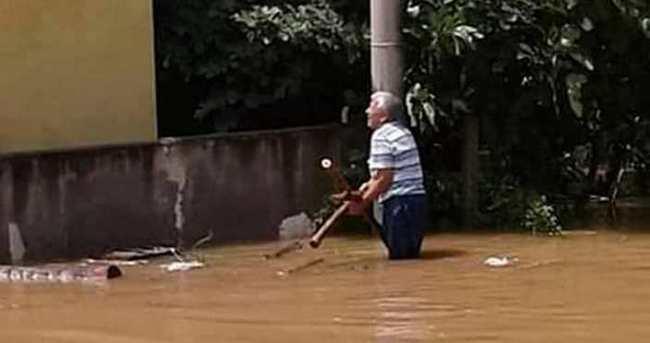 İskenderun sular altında kaldı!
