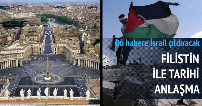 Vatikan, Filistin'i tanıdı