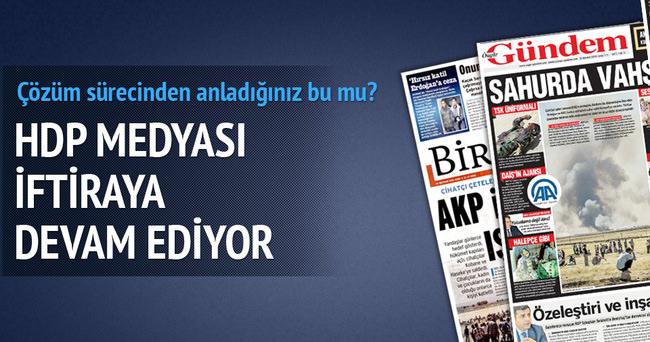 HDP medyası AK Parti'yi hedef alıyor