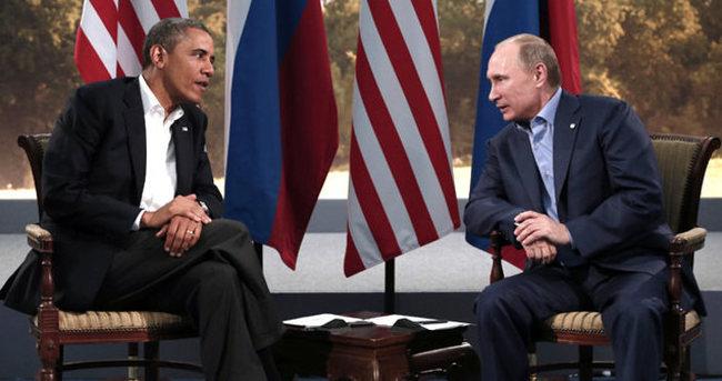 Obama ile Putin Ukrayna krizini görüştü