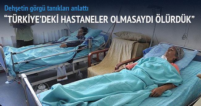 Kobani'den getirilen yaralılar dehşetin en yakın görgü tanığı
