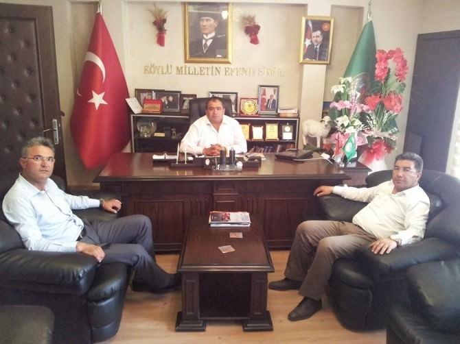 Belediye Başkanlarından Ziraat Odasına Ziyaret