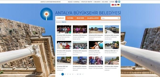 Büyükşehir Belediyesi'nin Web Sitesi Yenilendi