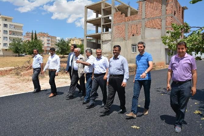 Belediye Meclis Üyeleri Çalışmaları Yerinde İnceledi