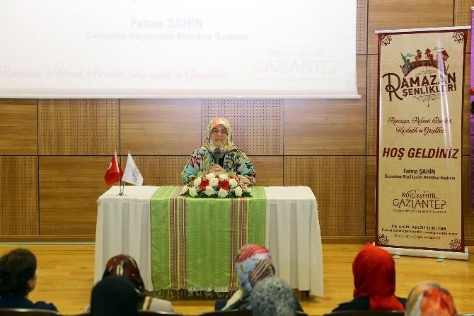 Gazeteci Eraslan, Gazianteplilere Hz.meryem'i Anlattı