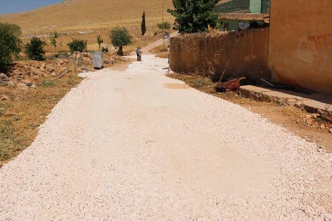 Dağeteği'nde Yol Yapım Çalışması