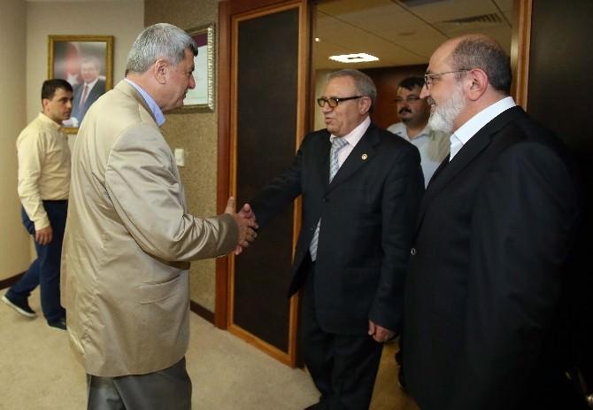 Konca'dan Başkan Karaosmanoğlu'na Nezaket Ziyareti