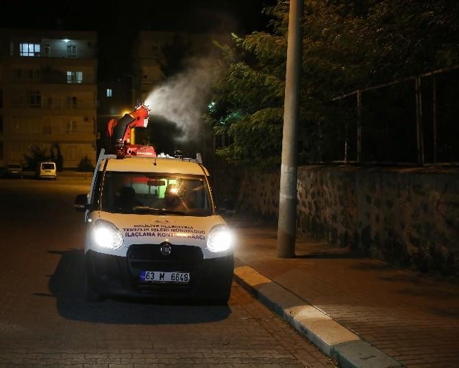 Haliliye'de, İlaçlamada Ramazan Molası Yok