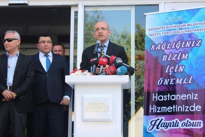 """Bakan Şimşek: """"Her Yüz Liralık Verginin 21 Lirasını Sağlığa Harcıyoruz"""""""