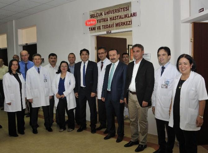 Selçuk Tıp Yutma Merkezi İle Bölgenin Sağlık Güvencesi Oldu