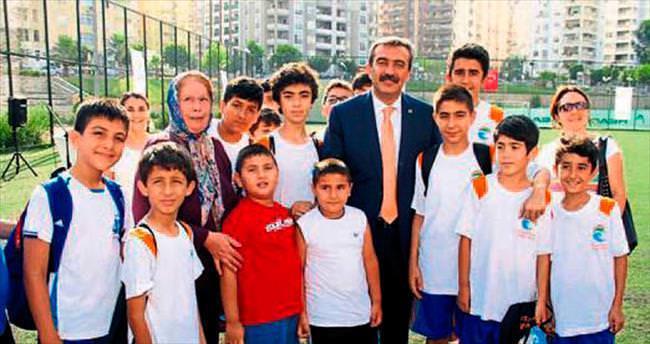 Çukurova'da yaz spor okulu