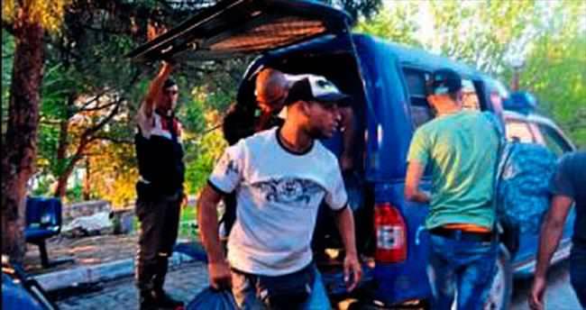 Balıkesir'de 45 kaçak yakalandı