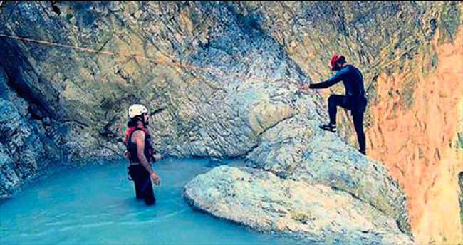 Gavur kanyonunu keşfettiler