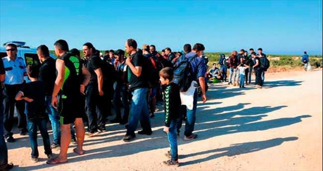 Beş ilde 286 kaçak yakalandı