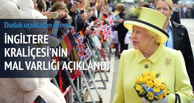 İngiltere Kraliçesi'nin serveti 535 milyon $