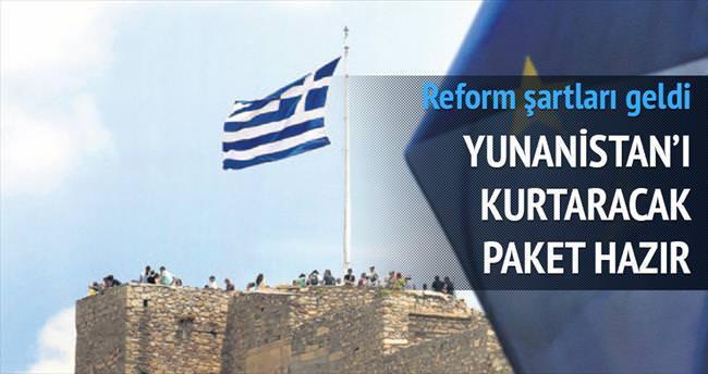 Yunanistan'ın iflas etmesine izin yok