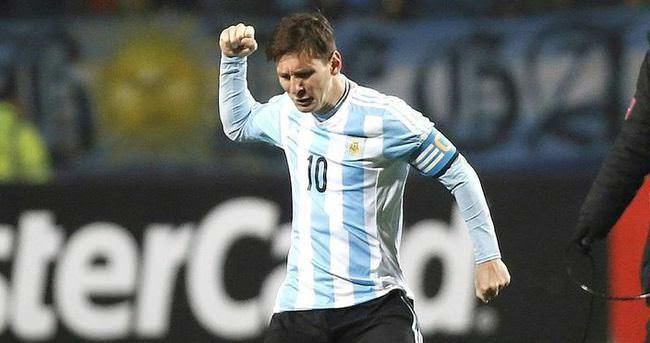 Arjantin penaltılarla yarı finalde