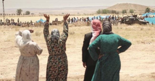 Kobani Türkiye sayesinde ayakta hala iftira atıyorlar