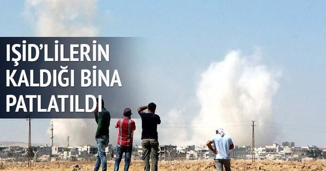 Kobani'de bir patlama daha