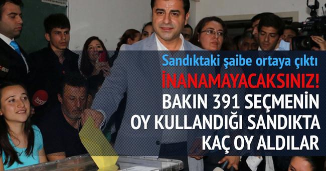 HDP'nin sandık hilesi bir kez daha ispatlandı