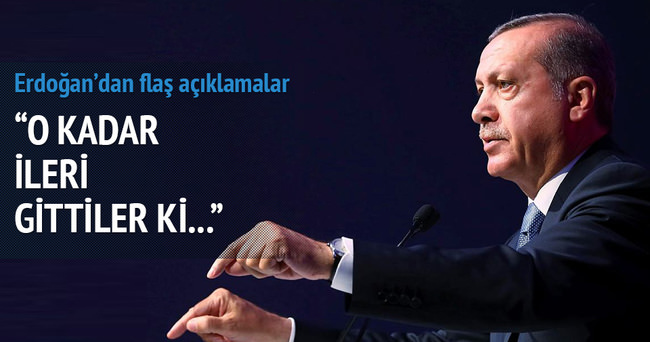 Erdoğan: Kendi ülkelerine yabancılaştıklarını görüyoruz''