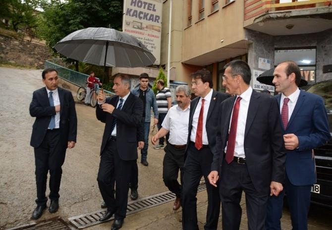 Efkan Ala Ve İbrahim Aydemir'den Teşekkür Ziyareti
