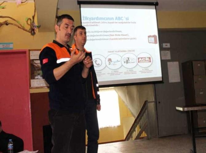 AFAD Eğitimleri Sürüyor