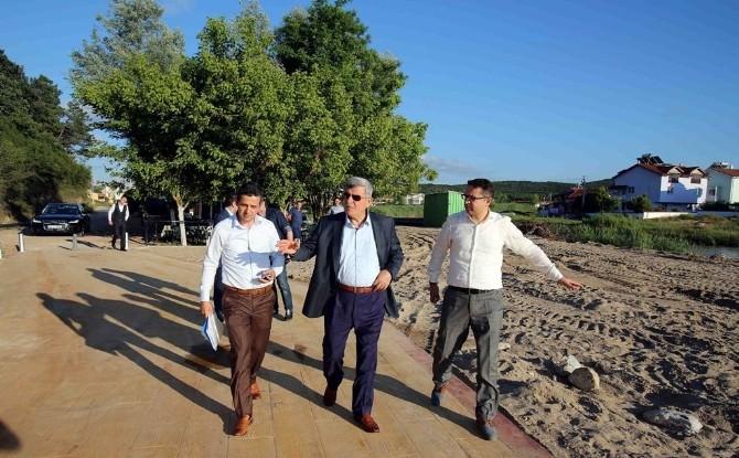 Başkan: Ege Ve Akdeniz Sahillerini Kandıra'ya Getirdik