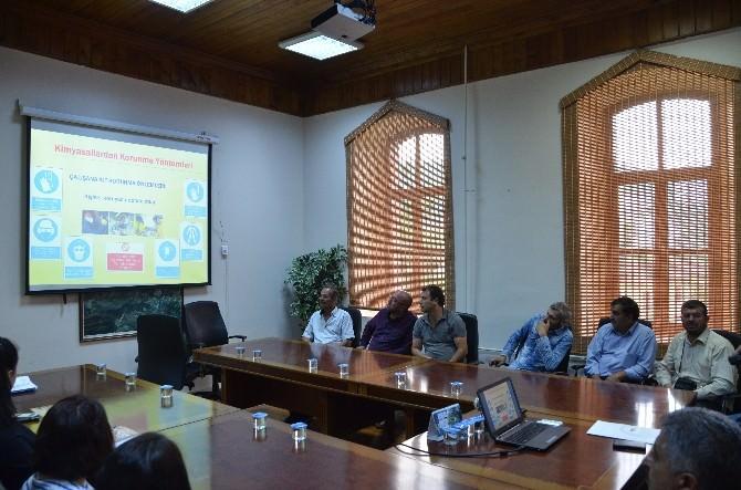 Bilecik Belediyesi Personeline ''İş Sağlığı Ve Güvenliği'' Eğitimi Verildi