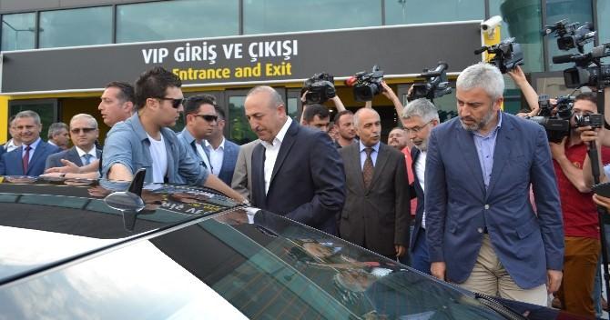 Dışişleri Bakanı Mevlüt Çavuşoğlu Ordu'da