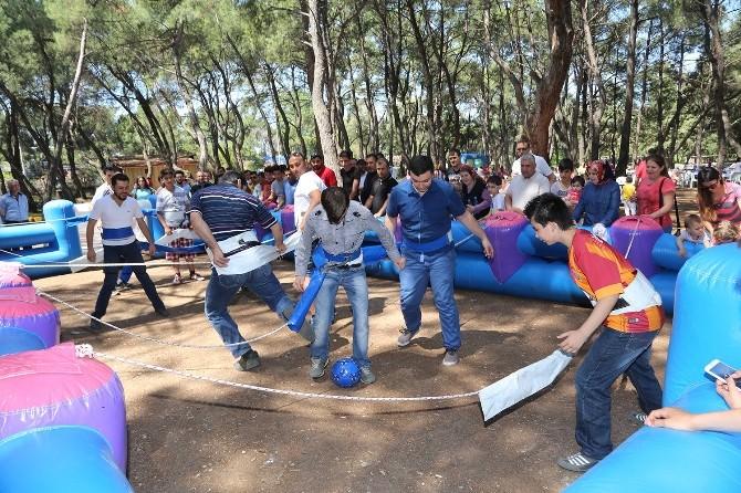 Efeoğlu Tabiat Parkı'na Ziyaretçi Akını