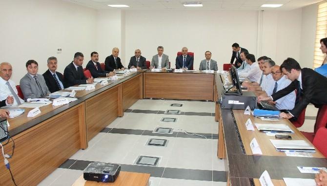 Elazığ'da İl Uyuşturucu Koordinasyon Kurulu Toplandı