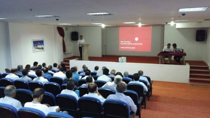 İpekyolu İlçesinde TEOG Değerlendirme Toplantısı
