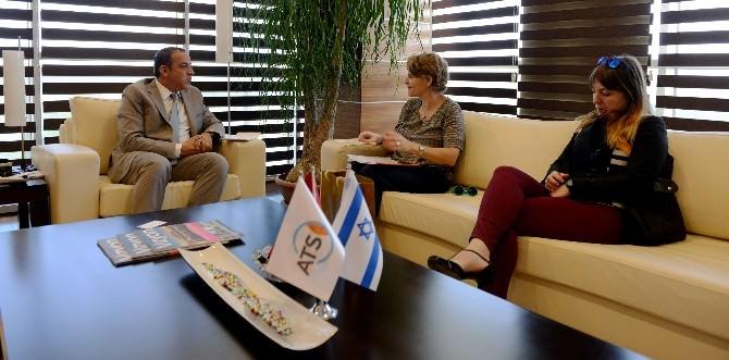 İsrail Maslahatgüzarı'ndan ATSO'ya Ziyaret
